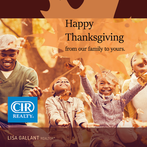 From My Family To Yours...Happy Thanksgiving